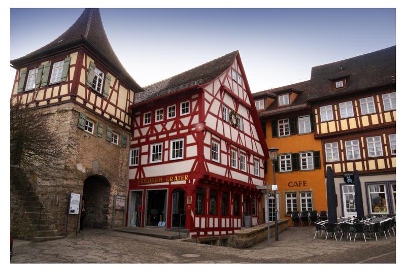 Maler - Malerarbeiten, Aussen, Beispiele Widmann Gruppe Schwäbisch Hall